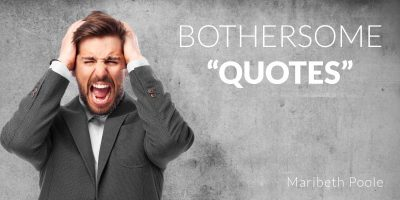bothersome-quotes