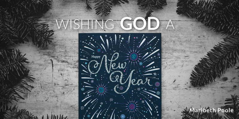 wishing god a happy new year